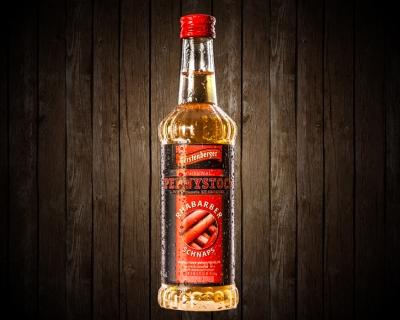 Pennystock Rhabarberschnaps | 0,35 l Flasche