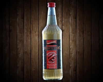 Pennystock Rhabarberschnaps | 0,7 l Flasche