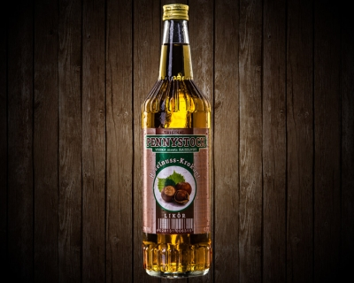 Pennystock Haselnuss-Krokant | 0,7 l Flasche