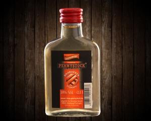 Pennystock Rhabarberschnaps | 0,1 l Flasche