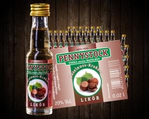 Pennystock Haselnuss-Krokant 25/0,02 l - Tray