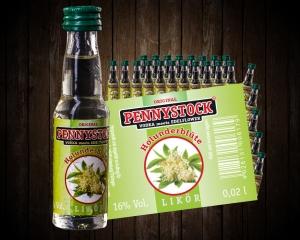 Pennystock Holunderblüte 25/0,02 l -  Tray